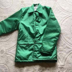 Green Urban Outfitters Sherpa Jacket